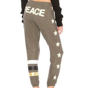 CHASER Graphic Light Pant, Peace